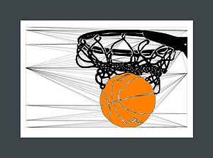 Basketball Art Prints Are Unique Basketball Gift Ideas From Biyoart Com Sports